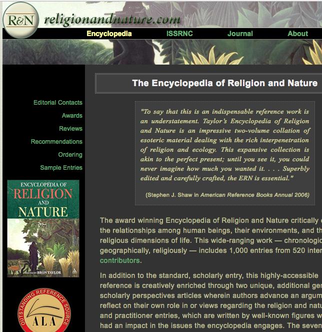 ReligionandNature.com